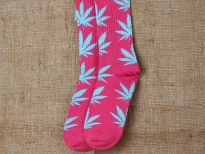 Socks Pink-Blue