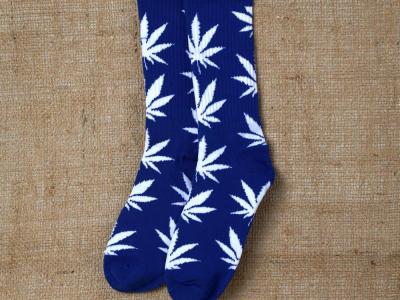 Socks Blue-White