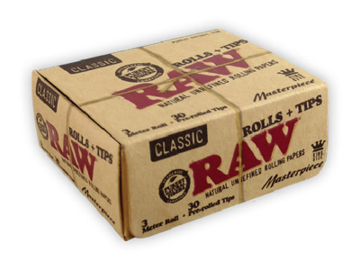 RAW Classic Masterpiece KSS & Pre-Rolled Tips